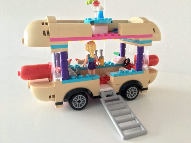 Lego Hot Dog Van Rear