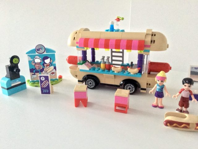 Lego Hot Dog Van Set