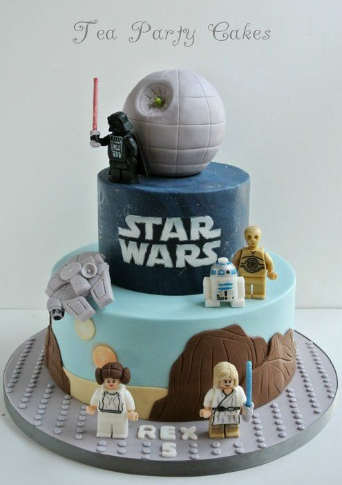 Lego Birthday Cakes - Star Wars