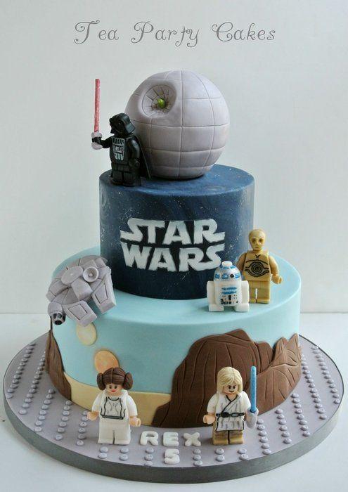Lego Birthday Cakes - Star Wars