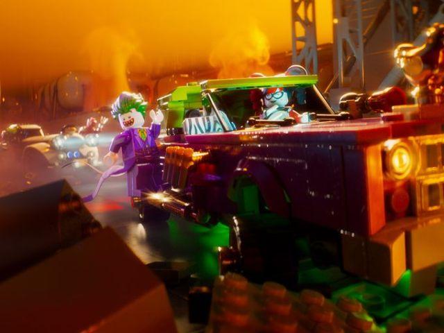 Lego Batman Movie Scene