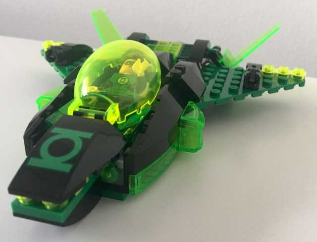 Lego Green Lantern Ship Front