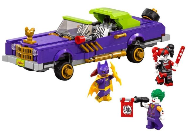 Lego Batman Movie Joker Lowrider