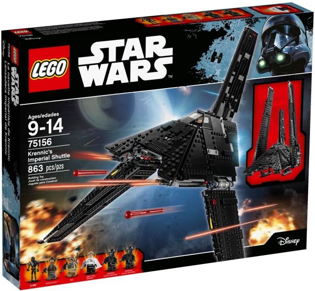 Lego Krennic's Imperial Shuttle 75156