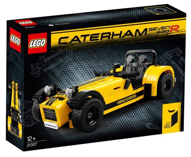 Lego Caterham 620R Box