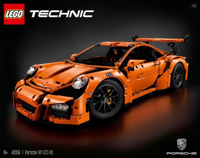 Lego Technic 42056 Porsche 911
