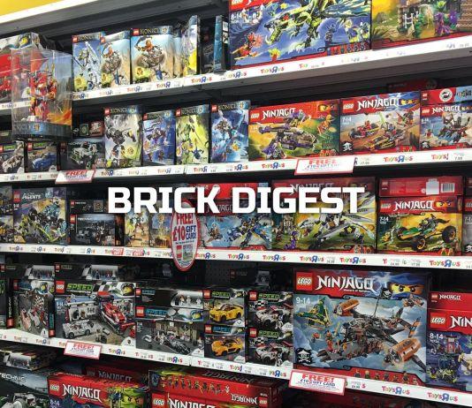Brick Digest Lego Wall