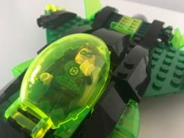Lego Green Lantern Ship Close