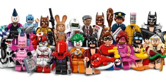 Lego Batman minifigure series
