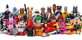 Lego Batman minifigure series