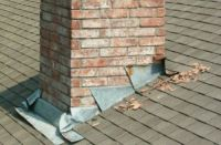 Chimney Flashings - How to Deal with Chimney Leaks - Brick ...