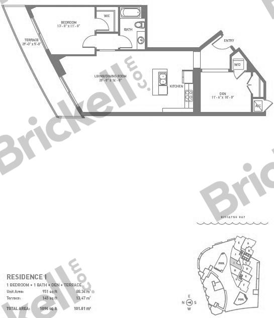 Asia Brickell Key Condos For Sale Rent Floor Plans