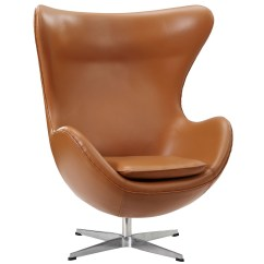 Leather Chair Modern Extra Large Moon Magnum Furniture Brickell Collection Tan