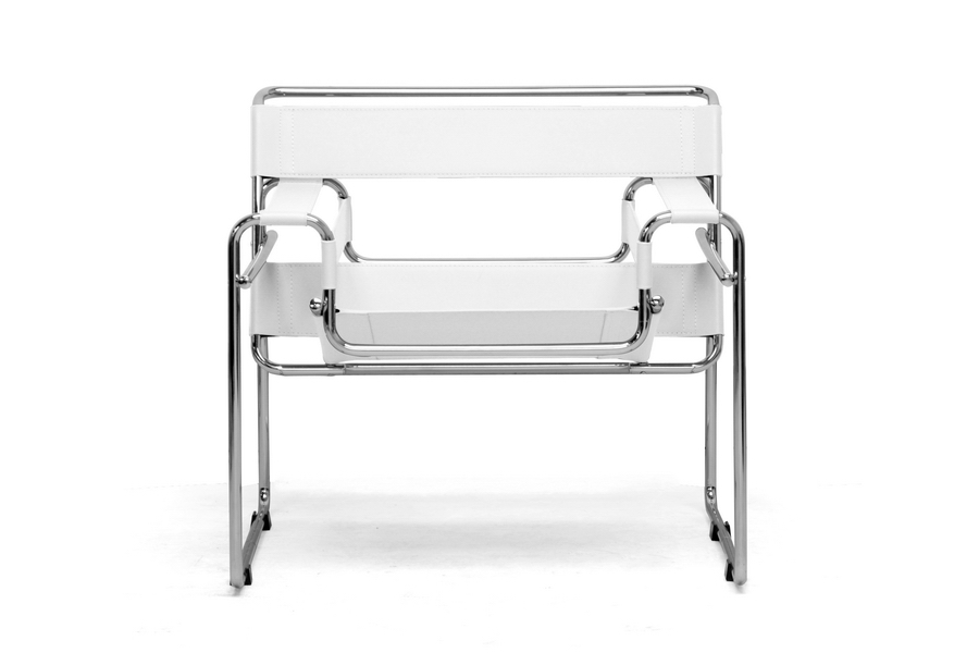 modern metal chairs chair cover hire aylesbury leather strap brickell collection furniture white 2
