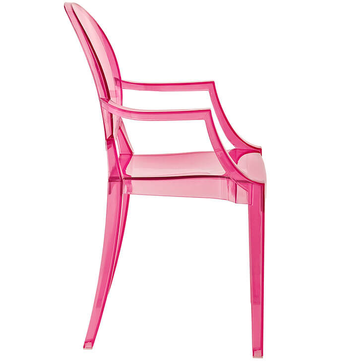 pink kids chair toddler personalized throne modern furniture brickell collection 2
