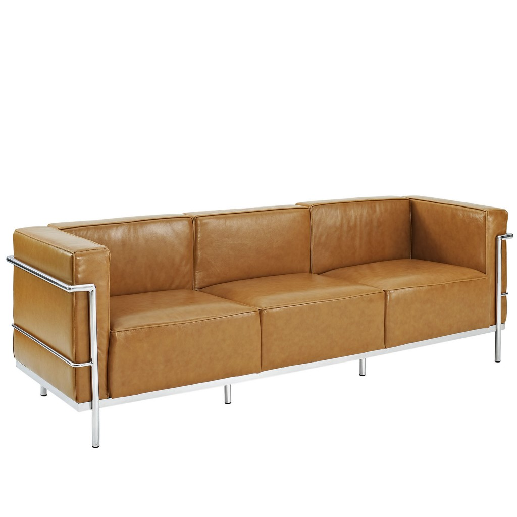 big leather sofa cheap bed los angeles simple large modern furniture  brickell