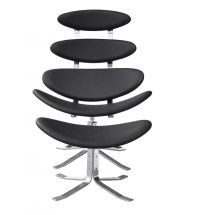 Futuristic Lounge Chair Set | Modern Furniture  Brickell ...