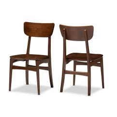 Bentwood Dining Chair Big Lots Recliner Covers 2 Set Modern Furniture Brickell Collection 3