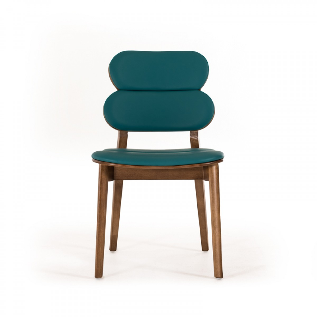 Turquoise Leather Chair Dining Chairs Brickell Collection