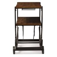 Steampunk Rolling Bar Cart | Modern Furniture  Brickell ...