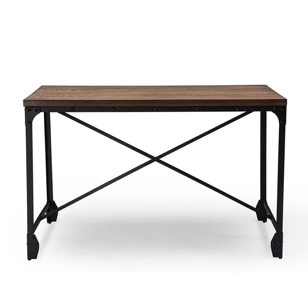 Industrial Wood Desk  Modern Furniture  Brickell Collection