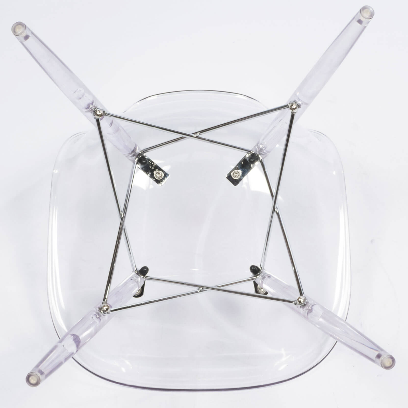 Ceremony Clear Chair  Modern Furniture  Brickell Collection