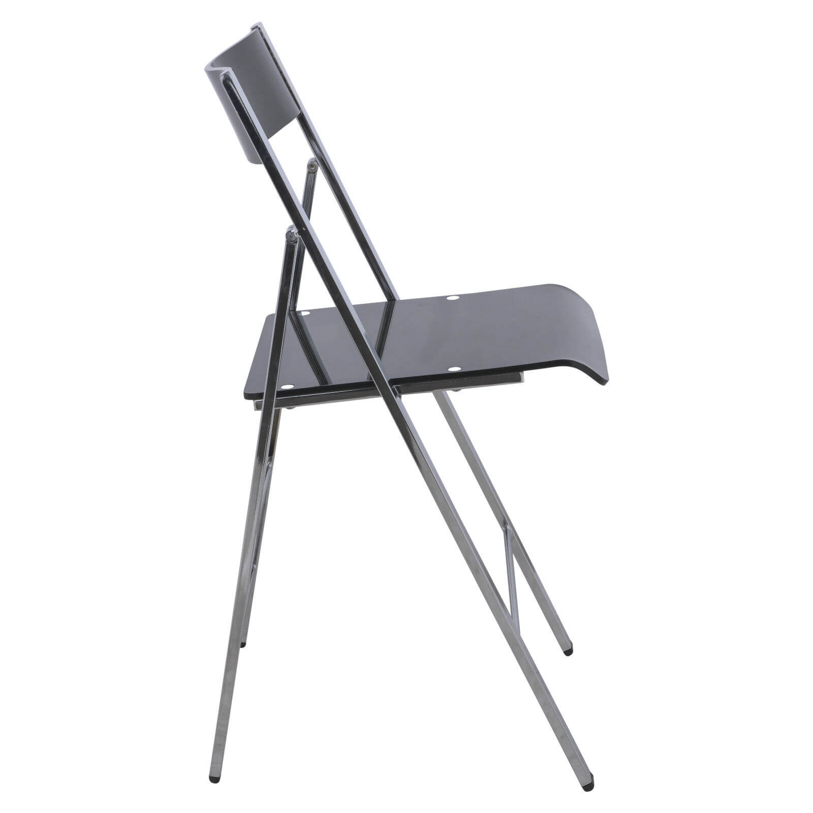 Lucid Clear Folding Chair  Modern Furniture  Brickell