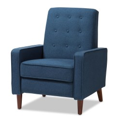 Accent Chair Blue Fisher Price Rainforest High Recall Chronicle Modern Furniture Brickell Collection