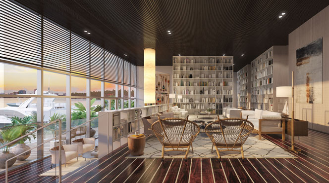 Monaco residences Amenities in miami beach
