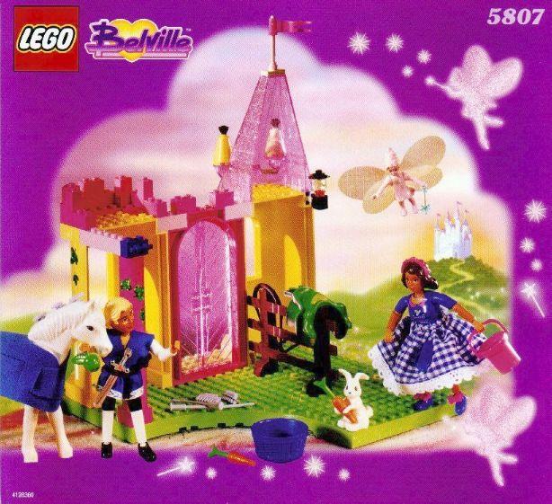 Bricker  Part LEGO  22239 Belville Fairy Wings Fabric