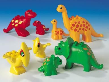 Bricker Part LEGO 31049pb01 Duplo Dinosaur Triceratops