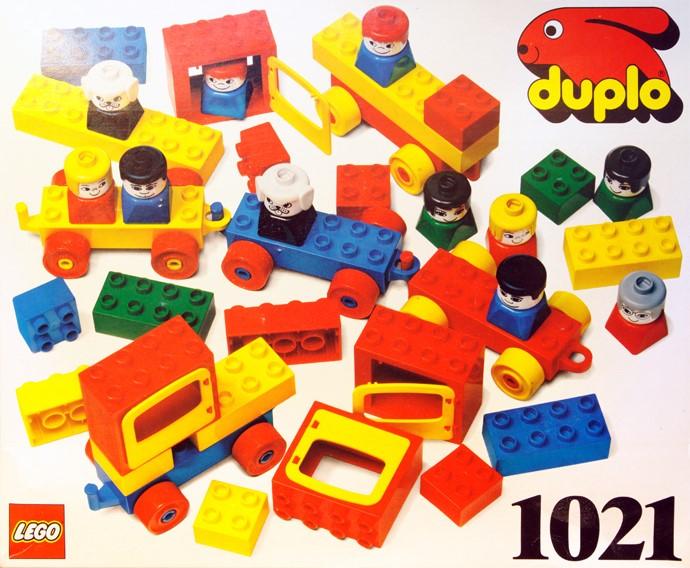 Bricker Construction Toy By LEGO 1021 Basic Vehicles 78 Elements