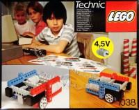 Bricker - Construction Toy by LEGO 1038 ERBIE the Robo-Car