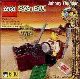 Bricker Construction Toy By LEGO 1094 Johnny Thunder