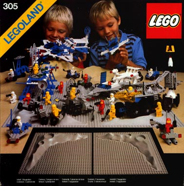Bricker Construction Toy By LEGO 305 2 Crater Plates