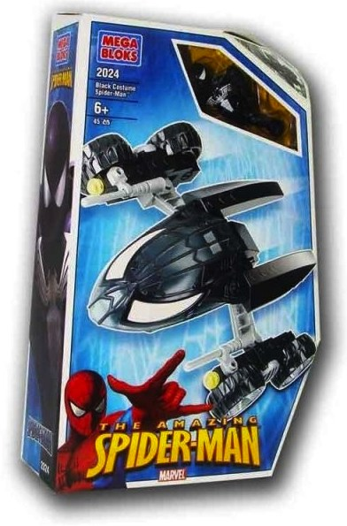 Bricker Construction Toy By MEGABLOKS 2024 Black Spider