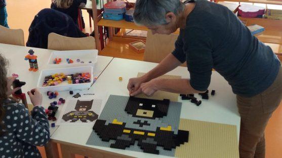 Atelier pixel art Lego par brickevent