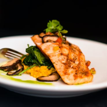 Miso Glazed Skuna Bay Salmon