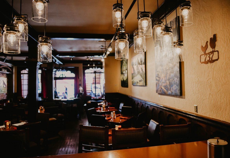 Brickhouse 737 Inside the Restaurant