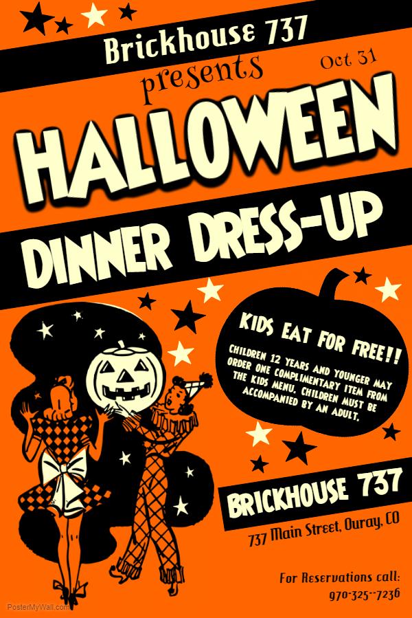 Halloween Dress up Brickhouse 737 2018