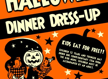 Halloween Dinner Dress up Brickhouse 737