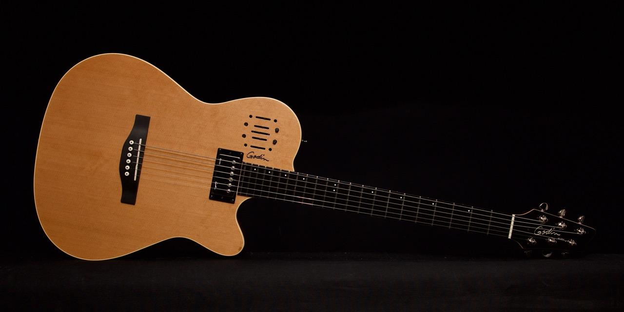 Godin A6 Ultra Natural Sg Brickhouse Guitars