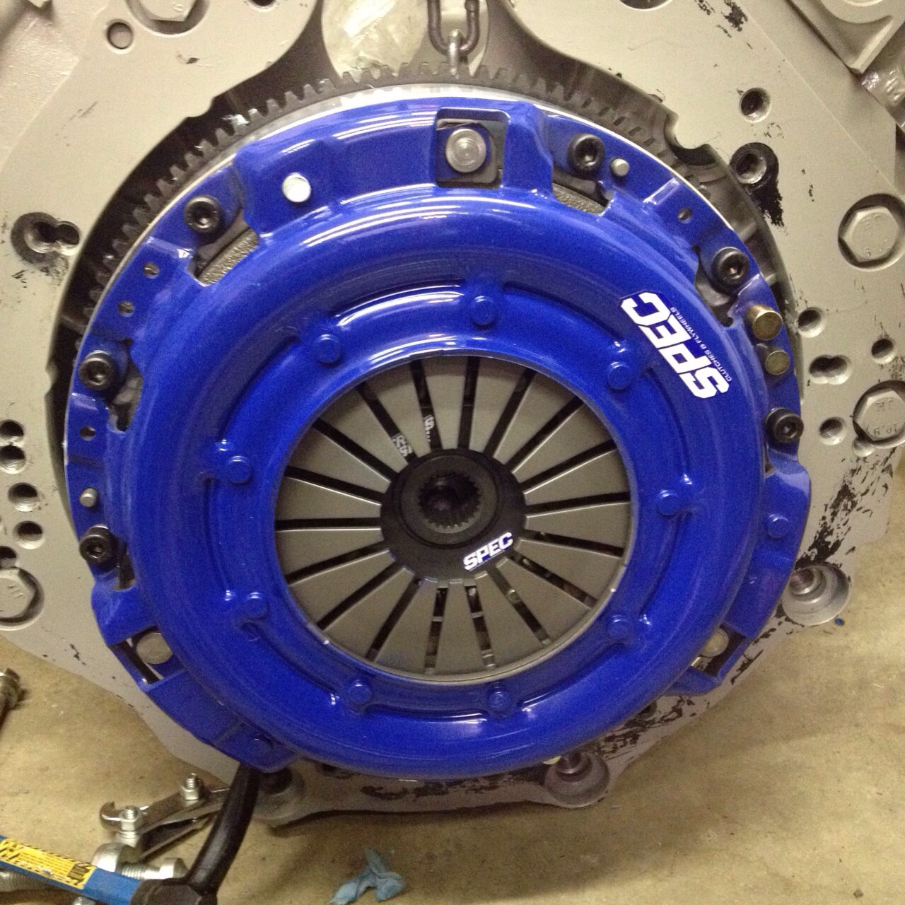 spec 350z clutch and vk56 conversion flywheel