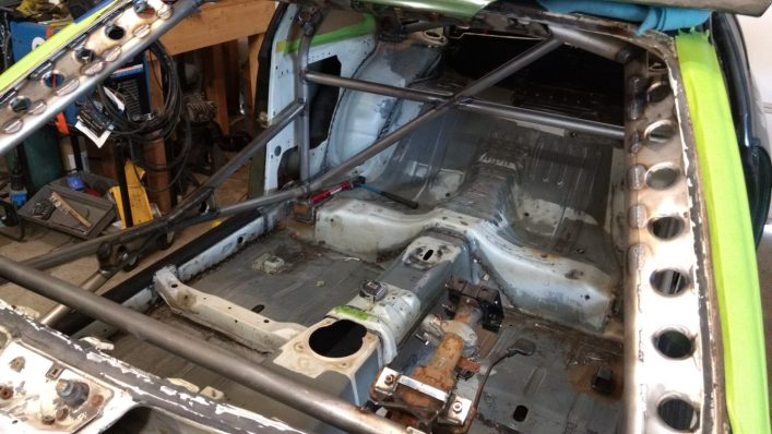 fabbing the s14 rollcage