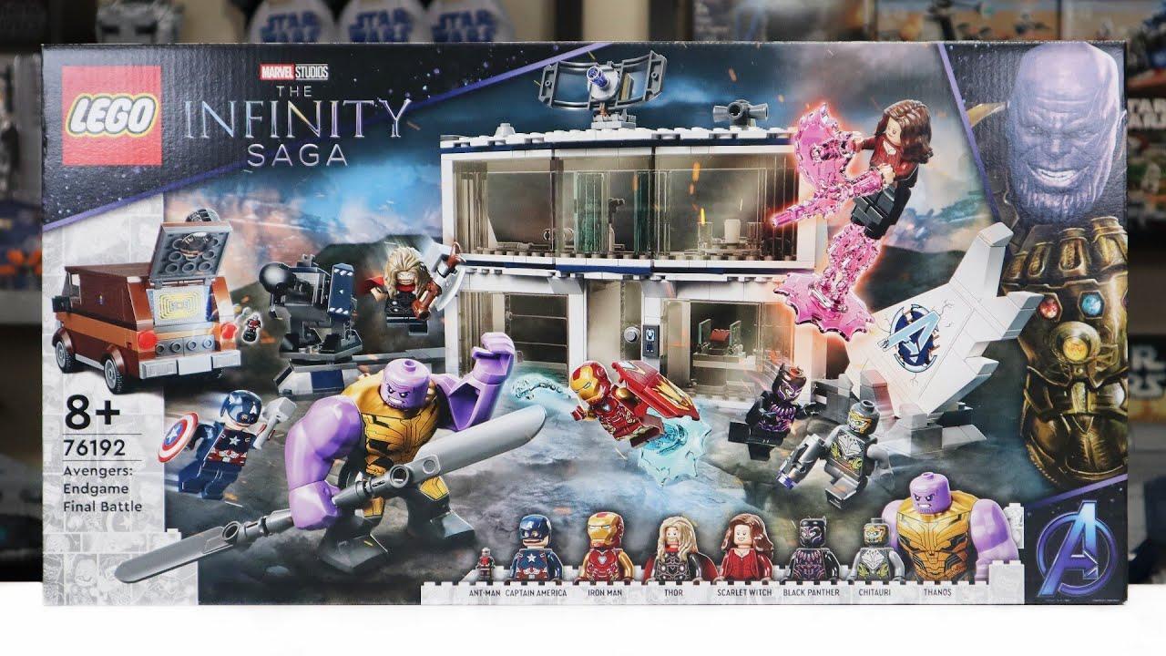 LEGO Infinity Saga 76192 AVENGERS: ENDGAME FINAL BATTLE ...