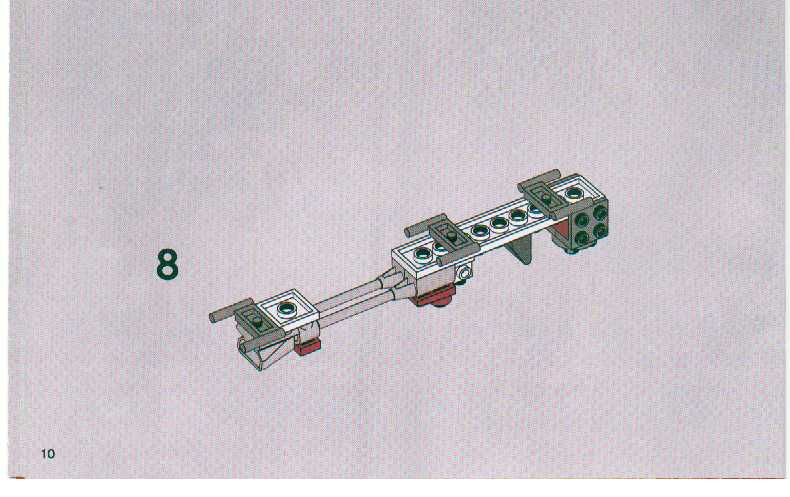 LEGO Clone Troopers Battle Pack Instructions 7655, Star Wars