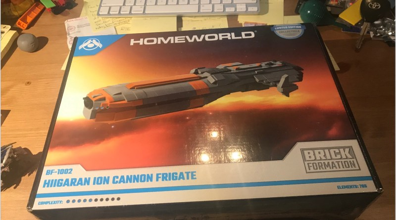 Review: Brick Formation's Hiigaran Ion Cannon Frigate