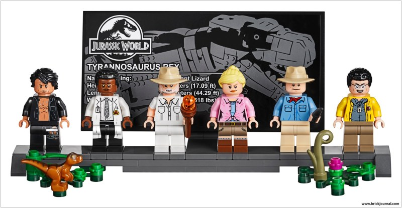 Build and Display the Classic Jurassic Park Gate and T  Rex