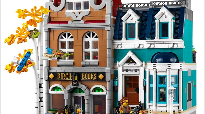 Add the Joy of Reading to Your Modular Buildings Town With the New LEGO® CREATOR EXPERT Bookshop – Two Buildings in One!