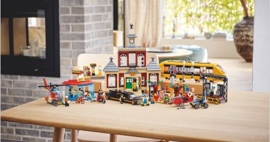 Set the Scene: Bring the LEGO® City Adventures TV Series to Life With the NEW LEGO® City Main Square Set!
